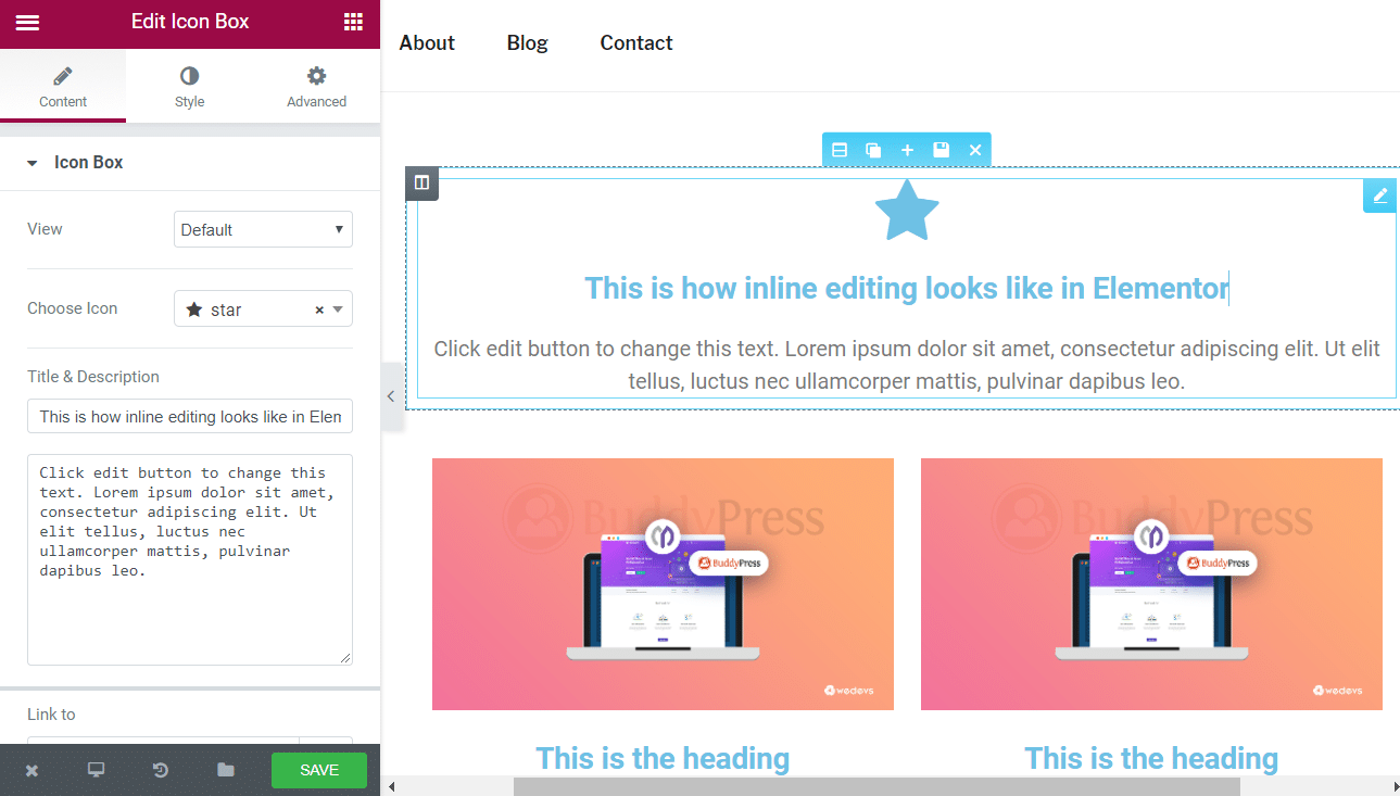 Elementor Inline Text Editing - How To Get Started 2