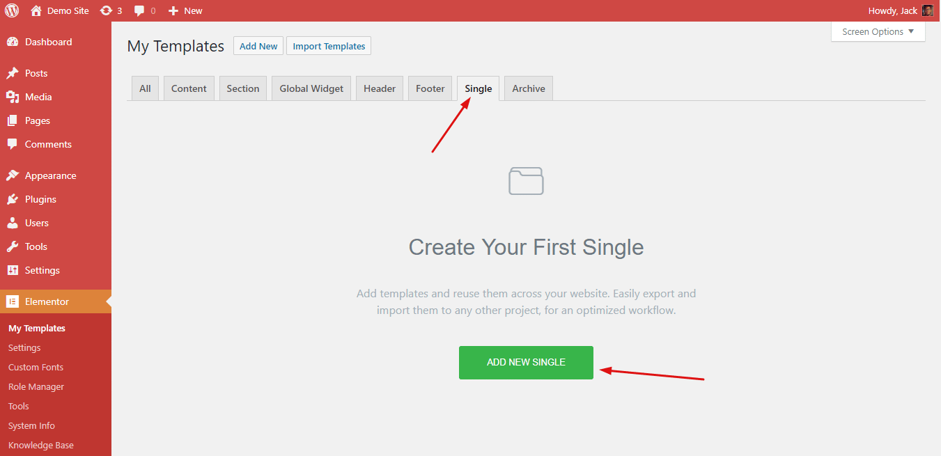 How To Design Custom 404 Page For Your Website Using Elementor 3