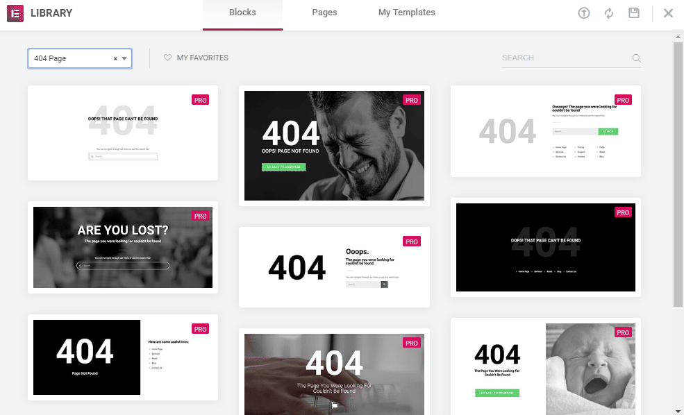 How To Design Custom 404 Page For Your Website Using Elementor 5
