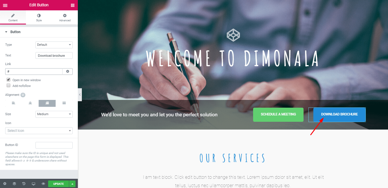Landing Page for your Consulting Business.