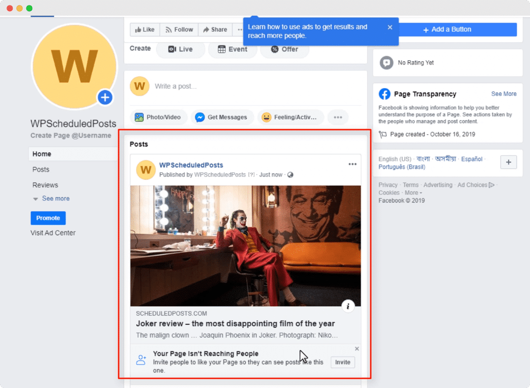 How To Automatically Social Share Your WordPress Blog Posts on Social Media 2