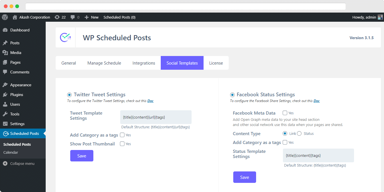 How To Automatically Social Share Your WordPress Blog Posts on Social Media 5